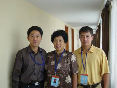 与中华取名网高培淇合影