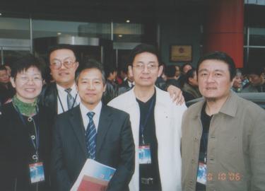 与黑龙江、浙江台州,山东易友合影